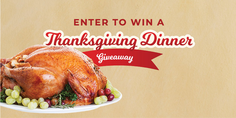 Thanksgiving Dinner Gift Card Giveaway