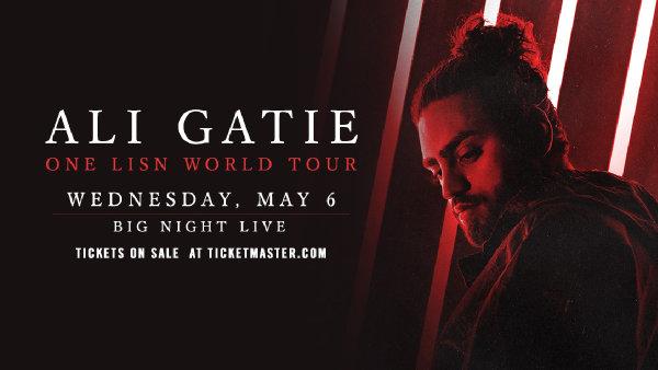 image for Ali Gatie Tickets