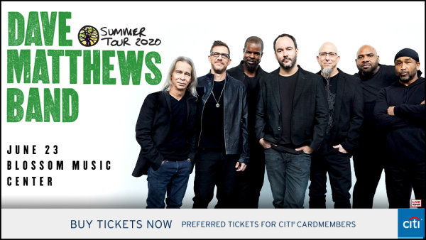 image for Win tickets to see The Dave Matthews Band