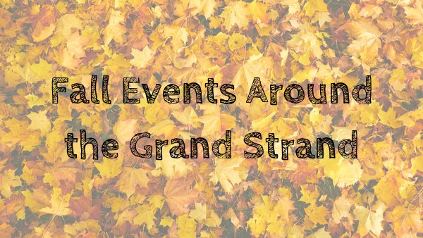 None - Let's Hear Your Fall Events!