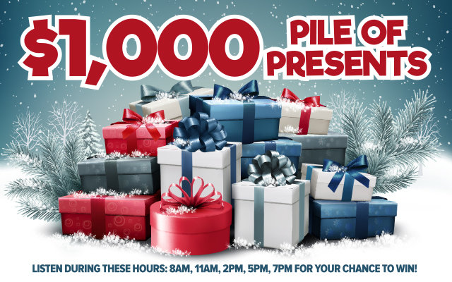 $1000 Pile of Presents