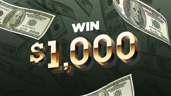 None -  Enter To Win $1000 Every Hour!