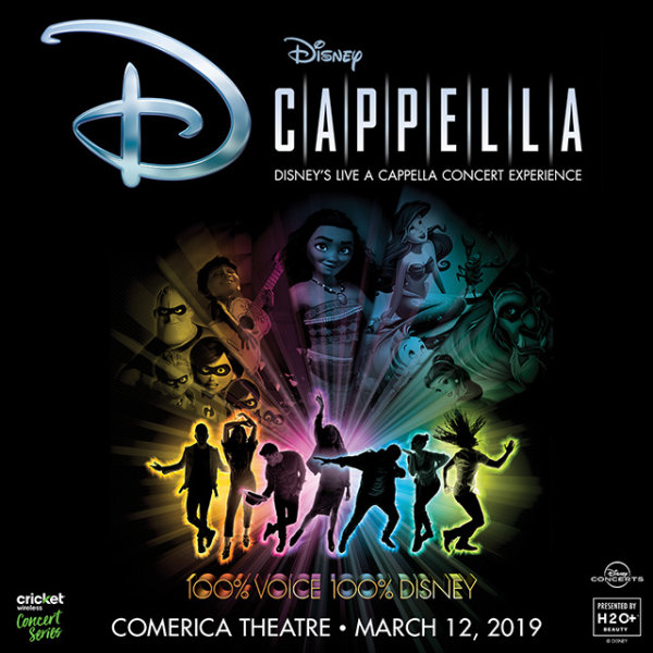 None -  Win Tickets To Disney's DCapella!