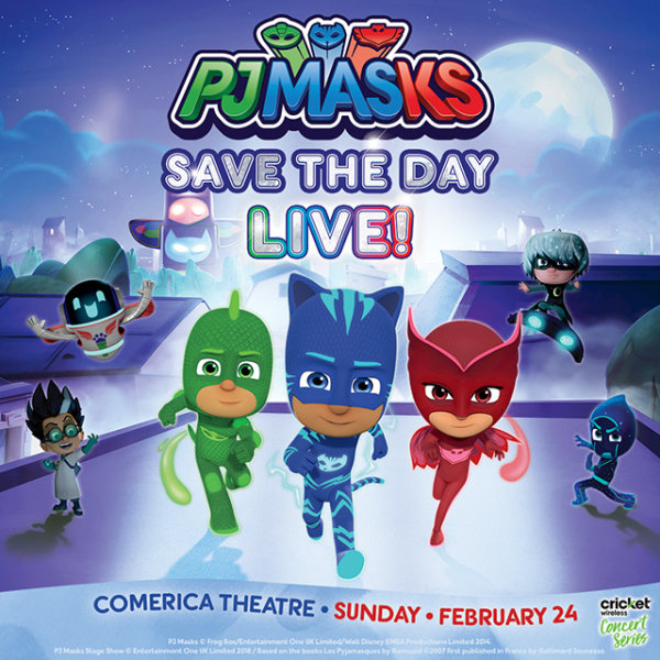 None - Win Tickets To See PJ Masks Live!