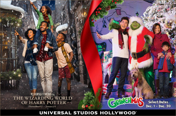 None - Get in the Spirit With Memorable Holiday Experiences at Universal Studios Hollywood™!