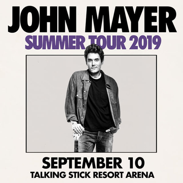 None - Win Tickets To See John Mayer!