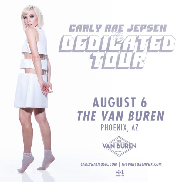 None - Win Tickets To See Carly Rae Jepsen!