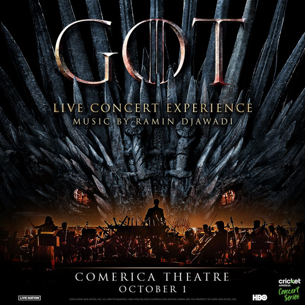 None - Win Tickets To See The Game of Thrones Live Concert Experience!