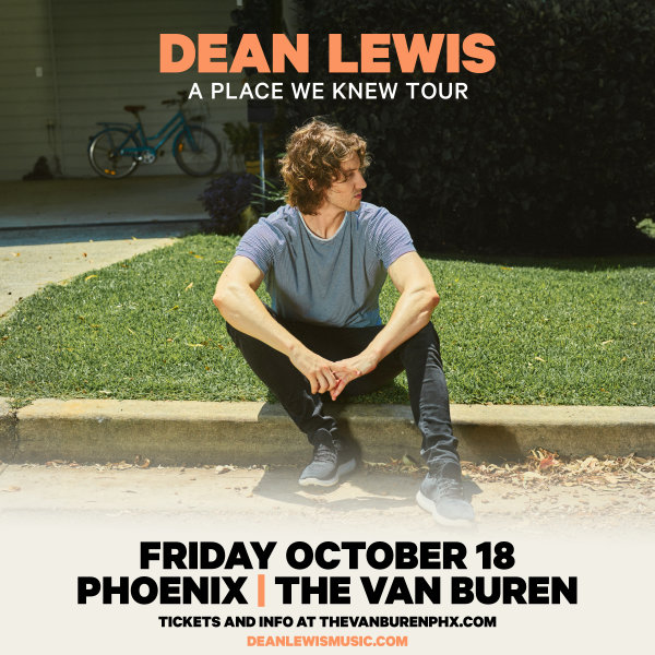None - Win Tickets To See Dean Lewis!