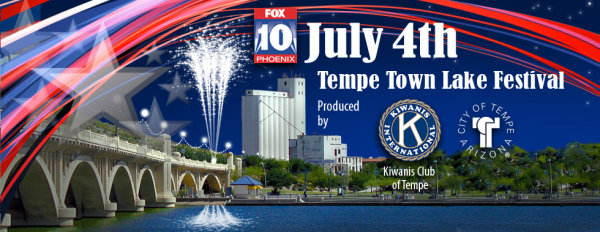 None - Win Tickets To The July 4th Tempe Town Lake Festival!
