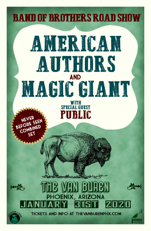 None - Win Tickets To See American Authors & Magic Giant!