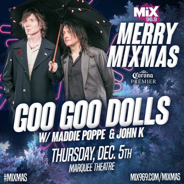 None - Win Tickets To See Goo Goo Dolls @ Merry MIXMAS!