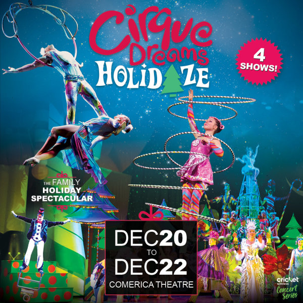 None - Win Tickets To Cirque Dreams Holidaze!