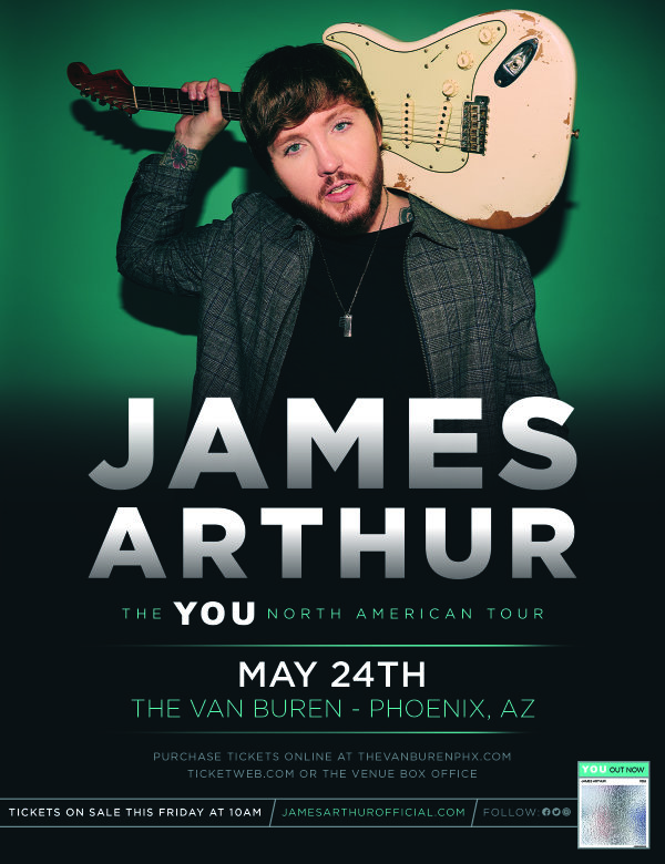 image for Win Tickets To See James Arthur!