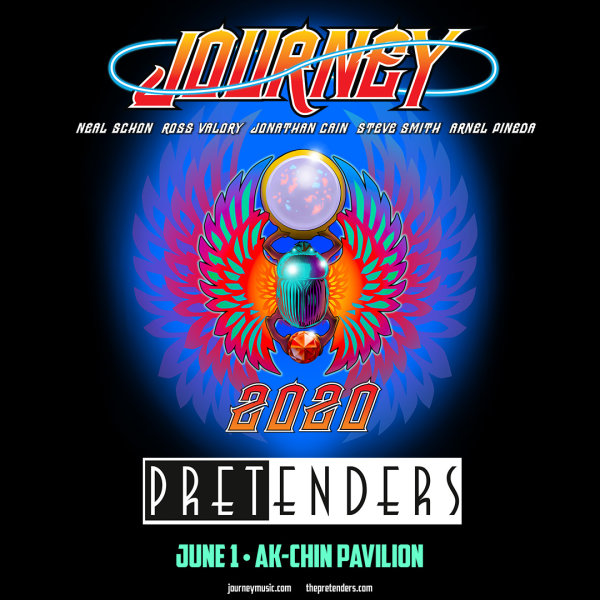 image for Win Tickets To See Journey With The Pretenders!