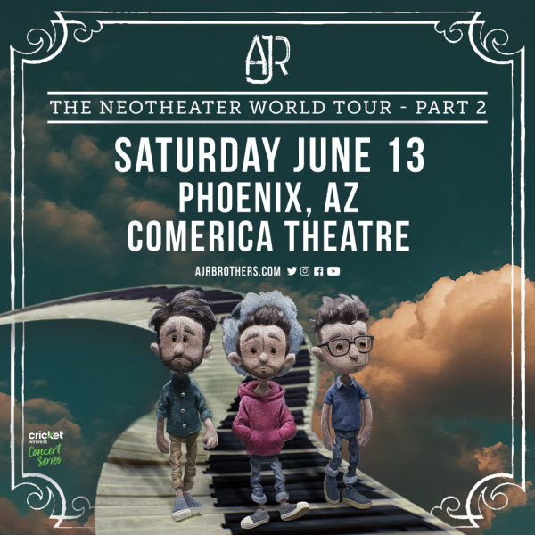 None - Win Tickets To See AJR!