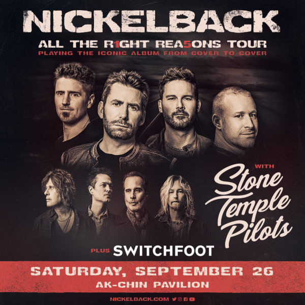 image for Win Tickets To See Nickelback!