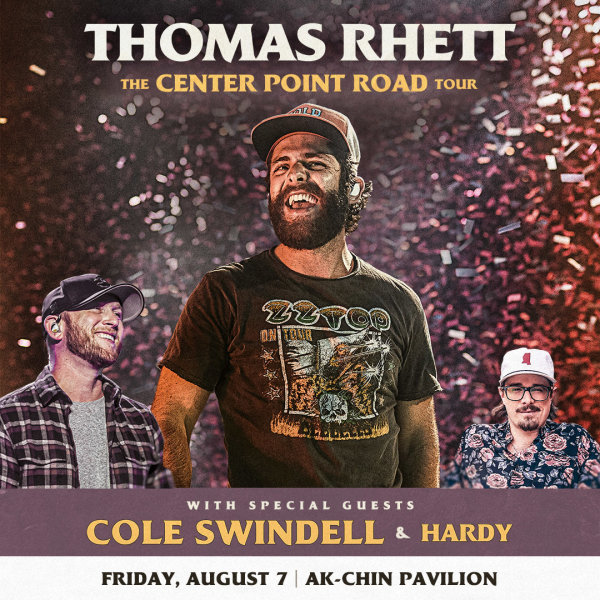 image for Win Tickets To See Thomas Rhett!