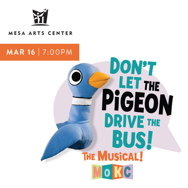 image for Win Tickets To See Don't Let The Pigeon Drive The Bus
