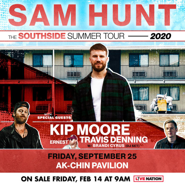 image for Win Tickets To See Sam Hunt!