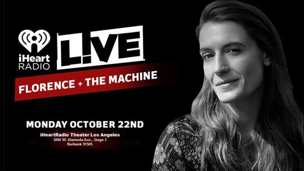 None -  Florence and the Machine at the iHeartRadio Theater (10/22) (Pair)