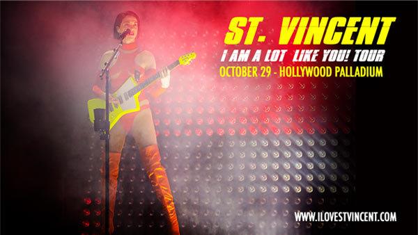 None - St. Vincent at Hollywood Palladium (10/29)