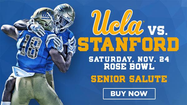 None - UCLA vs Stanford Cardinal at Rose Bowl (11/24) (Pair)