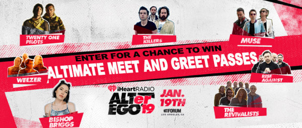 None -      Win the ALTimate Meet & Greet Passes to ALT 98.7's ALTer Ego!