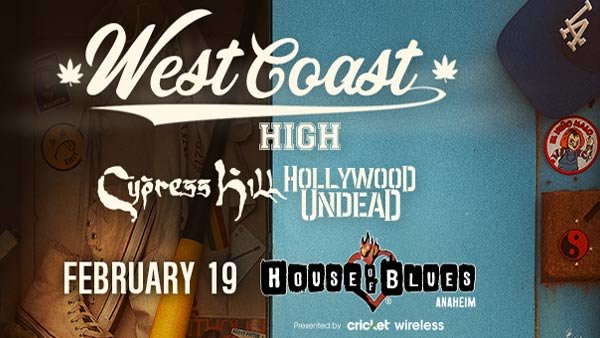 None - Cypress Hill & Hollywood Undead at HOB Anaheim (2/19)