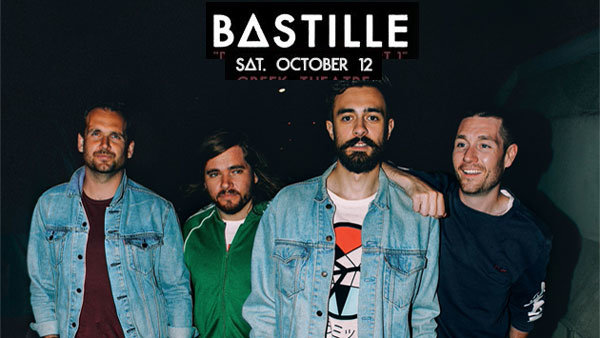 "None - Bastille Live from the ""Doom Days Backstage Bunker"" at Greek Theatre (10/12)"