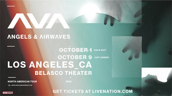 None -  Angels & Airwaves at The Belasco Theater (10/9)