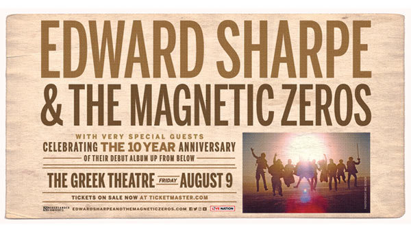 None - Edward Sharpe and The Magnetic Zeros at Greek Theatre (8/9)