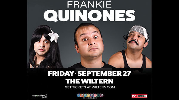 None - Frankie Quinones at The Wiltern (9/27)
