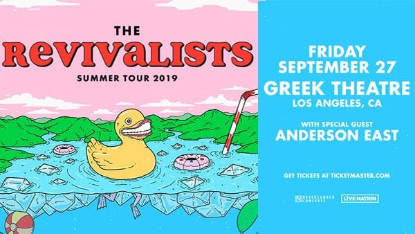 None - The Revivalists at Greek Theatre (9/27) (Online Contest #2)
