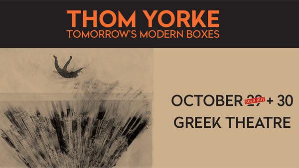 None - Thom Yorke at Greek Theatre (10/30)