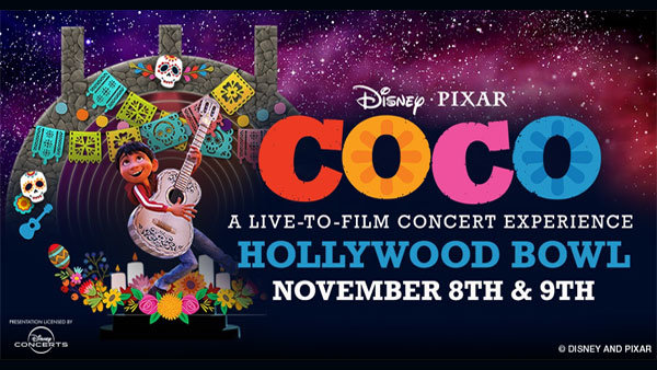 None - Disney and Pixar's COCO Live-To-Film Concert Experience at Hollywood Bowl (11/8) (Pair)