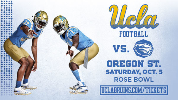 None - UCLA Bruins vs. Oregon State Football (10/5) (Pair)