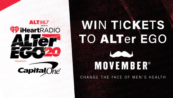None - Win Tickets to ALTer Ego Courtesy of The Movember Foundation