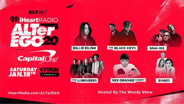 None - Win Tickets to the SOLD OUT iHeartRadio ALTer Ego 2020 presented by Capital One (1/18/20) (Pair)