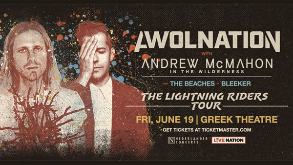 None - AWOLNATION at the Greek Theatre (6/19/20)