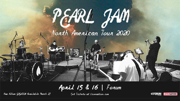 None - Pearl Jam at The Forum (4/16)