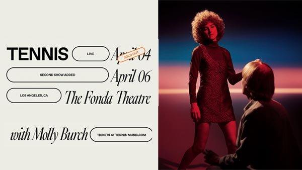 None - Tennis at Fonda Theatre (4/6)