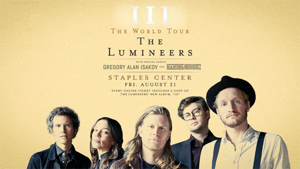 None - The Lumineers at STAPLES Center (8/21)