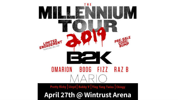 None -    Win Front Row Tickets And Meet & Greets With B2K