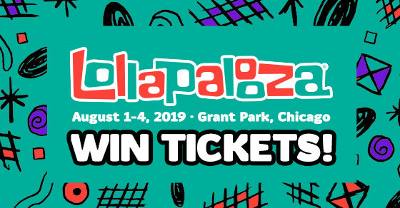 Win 4-Day Passes to Lollapalooza 2019