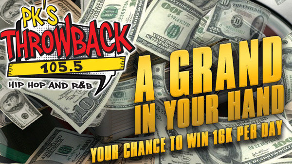 None -  A Grand in Your Hand! Your Chance to Win 16k per day!