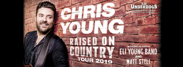 Win a Chris Young VIP Experience!