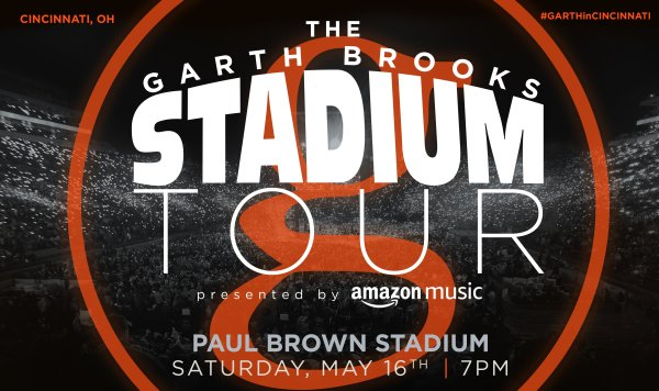 Win tickets to see Garth Brooks!