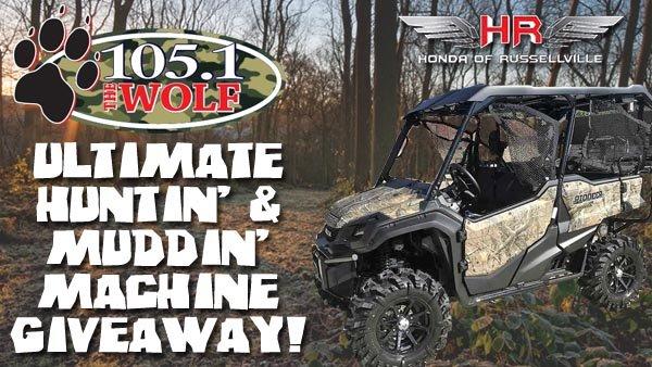 None - The Ultimate Huntin' & Muddin' Machine Giveaway!