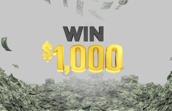None - Track The Cash And Win $1000!